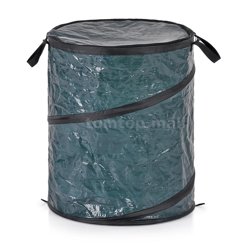 Homgeek Portable Collapsible Trash Can Garbage Storage Bag Collection Bin T1t2 Ebay