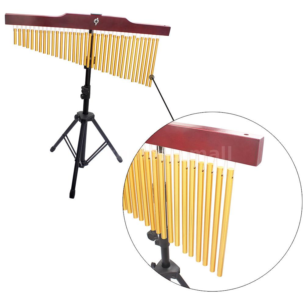 how to mount bar chimes to stand